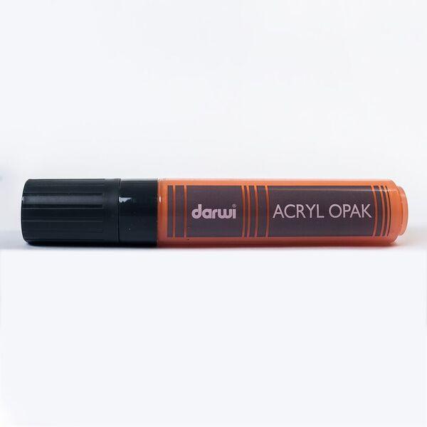 Akrylová fixa Darwi - MAXI - 25ml/15mm - oranžová