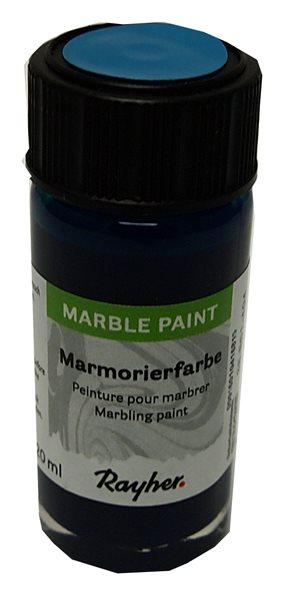 Mramorovací barva Rayher Marble Paint 20 ml - tyrkysová