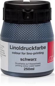 Barva na linoryt AMI 250ml - černá