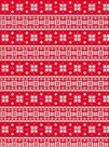 Papír na decoupage - červená Vánoční