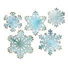 Vyřezávací kovové šablony Thinlits -  Papírové sněhové vločky (5ks)
