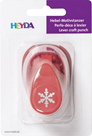 Ozdobná děrovačka na papír Heyda, 17 mm - Vločka