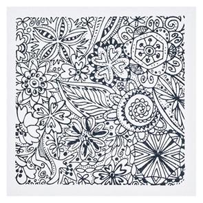 CERNIT polymerová textura - květiny