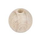 Dřevěné korálky průměr 40 mm (6 ks)