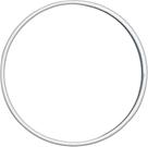 Drátěný kruh, průměr 10 cm - bílý