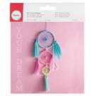 Kreativní sada na výrobu lapače snů pastelové barvy (velikost 14 x 41 cm)