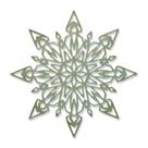 Kovová vyřezávací šablona Thinlits - Sněhová vločka 1 ( 1 ks)