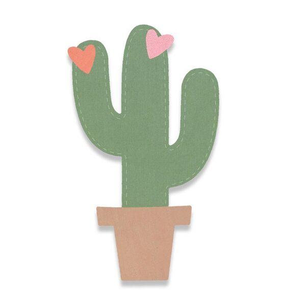 Vyřezávací šablona Bigz - Kaktus