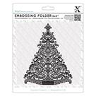 Embosovací kapsa Xcut - Vánoční stromek