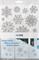 Samolepky na okno - Stříbrné hvězdy