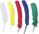 Dekorativní Indiánské peří 20ks, mix barev