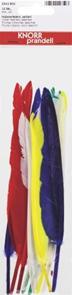 Dekorativní Indiánské peří 6ks, mix barev
