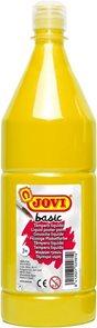 Temperová barva JOVI BASIC 1 L - Žlutá