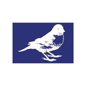 Šablona na sítotisk A5 - Ptáček