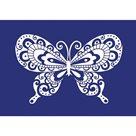 Šablona na sítotisk A4 - Motýl