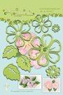 Vyřezávací kovová a embosovací šablona Leabilities - Planá růže ( 8 ks )