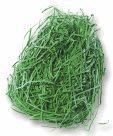 Dekorativní tráva z papíru - 30 g - zelená