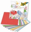 Origami papír Basic intensiv, 80 g/m2 - 20 x 20 cm