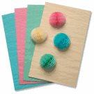 Plástvový papír - 30 listů - pastelové barvy