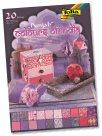 Sada papírů Barvy Indie A4 - odstíny růžové, fialové