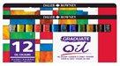 Sada olejových barev Graduate 12x12 ml