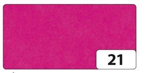 Hedvábný papír 50x70 cm, 20 g, 26 listů - barva sytá růžová