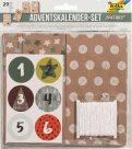 Adventní kalendář - papírové sáčky