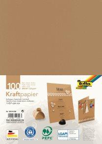 Folia Kraftový papír 120 g/m2 - 100 listů