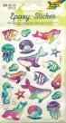 Folia vypouklé samolepky - podmořský svět