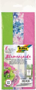 Folia hedvábný papír - růžový mix, 17 g/m2