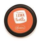 Textilní razítkovací polštářek Aladine IZINK - oranžový
