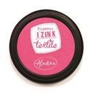 Textilní razítkovací polštářek Aladine IZINK - růžový