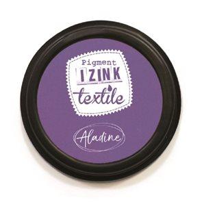 Textilní razítkovací polštářek Aladine IZINK - fialový