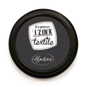 Textilní razítkovací polštářek Aladine IZINK - černý