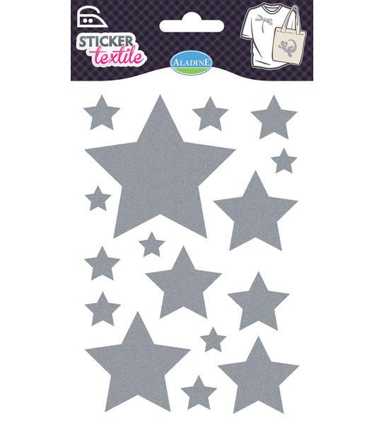 Nažehlovací nálepky na textil - Hvězdy