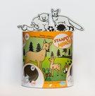 Gumová razítka - Lesní zvířátka