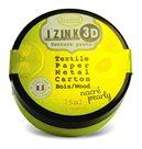 3D strukturovací pasta IZINK, perleťová žlutá