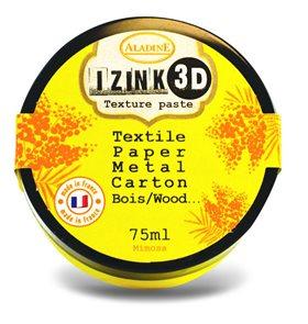 3D strukturovací pasta IZINK, žlutá