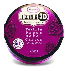 3D strukturovací pasta IZINK, růžová
