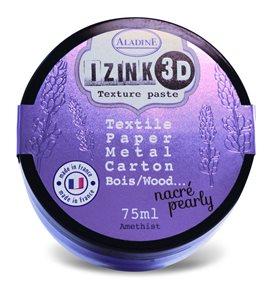 3D strukturovací pasta IZINK, perleťová fialová