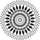 Plastová šablona - Zinnia (30,5 x 30,5 cm)