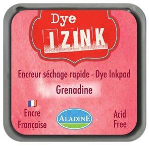 Inkoust IZINK mini, rychleschnoucí - zářivě červená