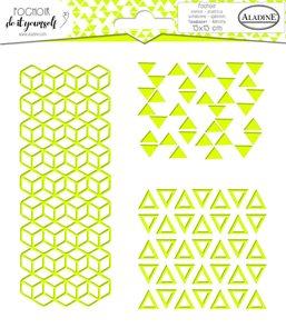 Plastová šablona Aladine - Geometrie trio