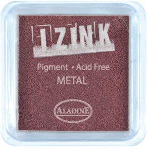 Inkoust IZINK mini, pomaluschnoucí - metalická hnědá (1)