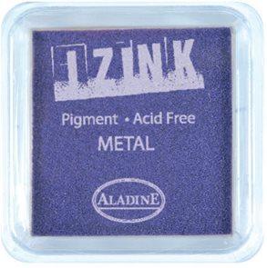 Inkoust IZINK mini, pomaluschnoucí - metalická fialová