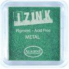Inkoust IZINK mini, pomaluschnoucí - metalická světle zelená
