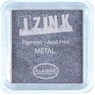 Inkoust IZINK mini, pomaluschnoucí - metalická modrostříbrná