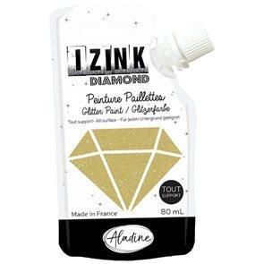 Diamantová pasta Aladine IZINK - Zlatá, 80 ml