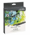 Sada uměleckých fixů LYRA Aqua Brush Duo 36 ks