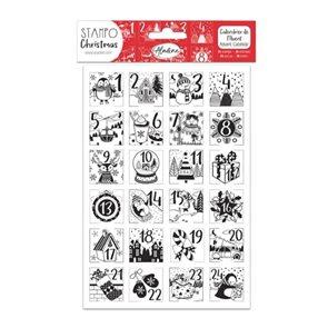 Pěnová razítka Aladine - Adventní kalendář